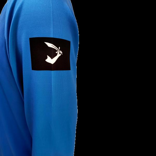 Liquid Octo Blue Shirt Sleeve