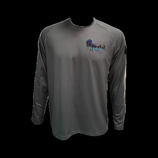 Liquid Manowar Ash Gray Shirt Front
