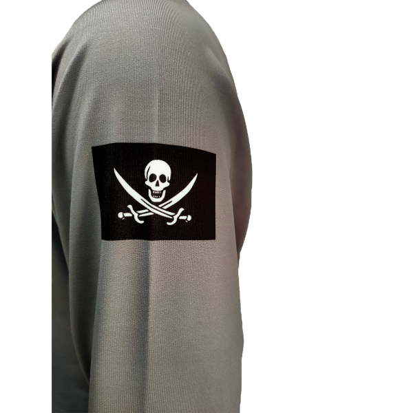 Liquid Manowar Ash Gray Shirt Sleeve