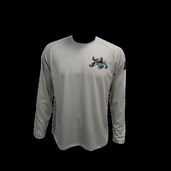 Liquid Octo Gray Shirt Front