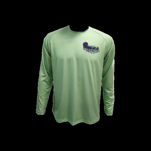 Liquid Manowar Mint Shirt Front