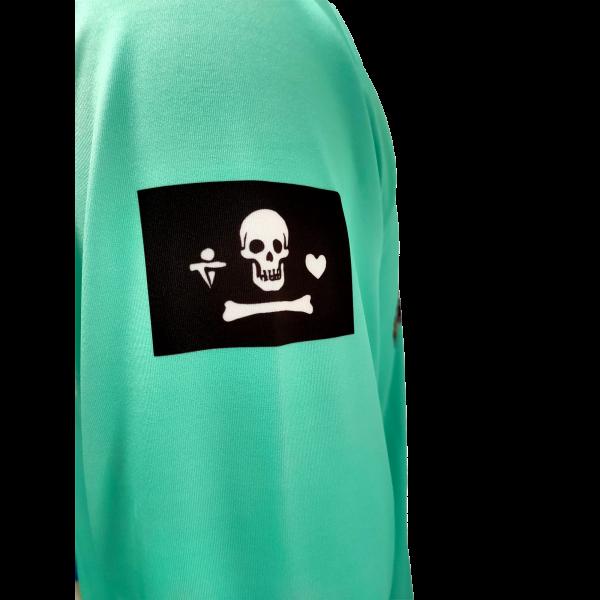 Liquid Octo Teal Shirt Sleeve