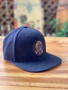 Diver Down Denim Patch Hat – Black