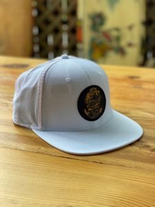 Diver Down Soft Patch Hat – White