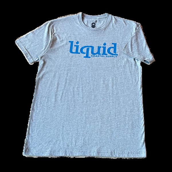 Liquid Coastal Supply - Original Logo - Gray - Front