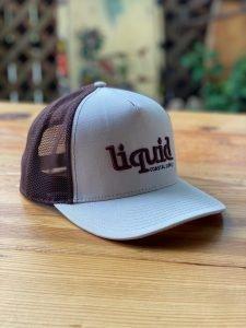 Liquid Cork Brim Hat – Tan & Brown