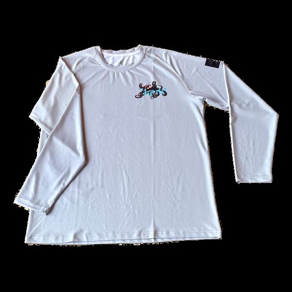 Octopus UV Shirt - Gray - Front