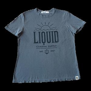 Liquid Sunset Logo Pima Cotton Tee