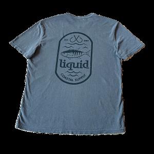 Liquid Tuna Tee – Gray
