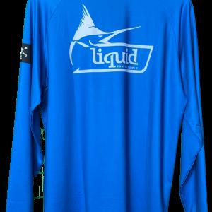 Liquid Marlin Blue Shirt Back