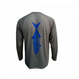 Blue Fish Fishing Shirt